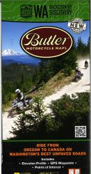 Washington Backcountry Discovery Route Map by Butler Motorcycle Maps