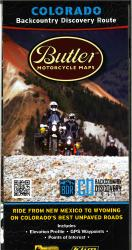 Colorado Backcountry Discovery Route Motorcycle Map by Butler Motorcycle Maps