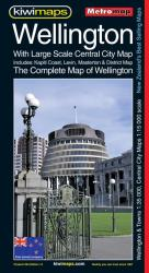 Wellington, Complete, New Zealand, Metromap by Kiwi Maps