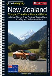 New Zealand, Compact Touring Atlas by Kiwi Maps