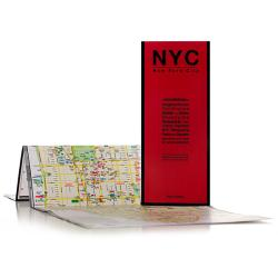 New York City, New York by Red Maps