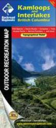 Kamloops and Interlakes Hiking Map by Backroads Mapbooks