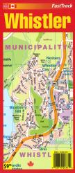 Whistler Fast Track Laminated Map by MapArt