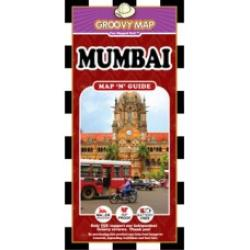 Mumbai, India, Map 'n' Guide by Groovy Map Co.