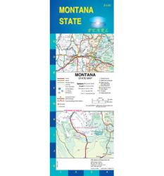 Montana, Pearl Map, laminated by GM Johnson