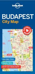 Budapest City Map by Lonely Planet Publications