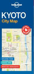 Kyoto City Map by Lonely Planet Publications