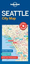 Seattle City Map by Lonely Planet Publications