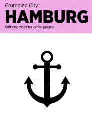 Hamburg, Germany Crumpled City Map by Palomar S.r.l.