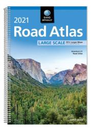 2021 Large Scale Road Atlas by Rand McNally