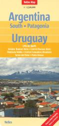 Southern Argentina, Patagonia, and Uruguay by Nelles Verlag GmbH