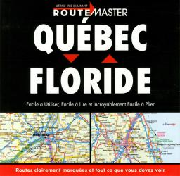 Quebec to Florida Drop Down, French Edition by Route Master