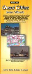 Quad Cities, Iowa by The Seeger Map Company Inc.