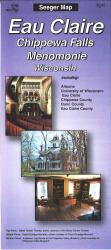 Eau Claire, Chippewa Falls and Menomonie, Wisconsin by The Seeger Map Company Inc.