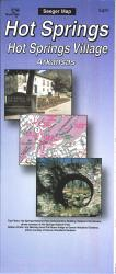 Hot Springs and Hot Springs Village, Arkansas by The Seeger Map Company Inc.