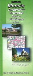 Muncie, Anderson, Kokomo, Marion and Huntington, Indiana by The Seeger Map Company Inc.