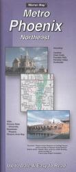Phoenix, Arizona Metro, Northeast by The Seeger Map Company Inc.