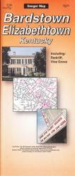 Bardstown and Elizabethtown, Kentucky by The Seeger Map Company Inc.