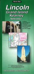 Lincoln, Grand Island and Kearney, Nebraska by The Seeger Map Company Inc.