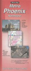 Phoenix, Arizona Metro, Northwest by The Seeger Map Company Inc.