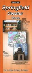 Springfield and Decatur, Illinois by The Seeger Map Company Inc.