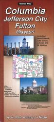 Columbia, Jefferson City and Fulton, Missouri by The Seeger Map Company Inc.