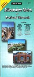 Milwaukee, Wisconsin Metro and Southeast Wisconsin by The Seeger Map Company Inc.