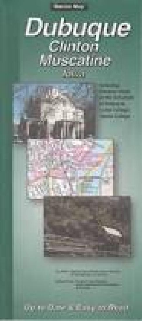 Loras Campus Map.Dubuque Clinton And Muscatine Iowa By The Seeger Map Company