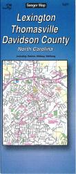 Lexington, Thomasville and Davidson County, North Carolina by The Seeger Map Company Inc.
