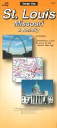 St. Louis, Missouri and Vicinity by The Seeger Map Company Inc.