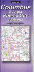 Columbus, Georgia and Phenix City, Alabama by The Seeger Map Company Inc.