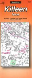 Killeen, Texas by The Seeger Map Company Inc.