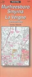 Murfreesboro, Smyrna, and La Vergne, Tennessee by The Seeger Map Company Inc.