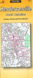 Hendersonville, North Carolina by The Seeger Map Company Inc.