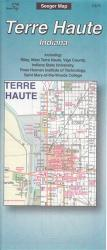 Terre Haute, Indiana by The Seeger Map Company Inc.
