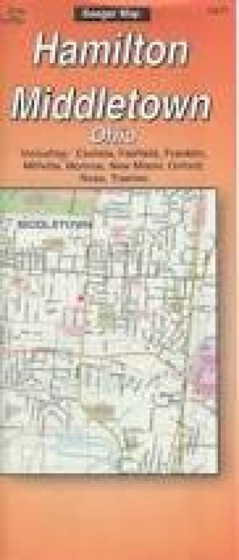 Butler County And Hamilton Ohio By The Seeger Map Company Inc