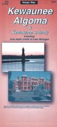 Algoma-Kewaunee, Wisconsin by The Seeger Map Company Inc.