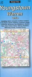 Youngstown and Warren, Ohio by The Seeger Map Company Inc.