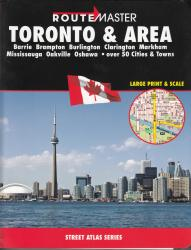 Toronto and Area, Ontario Atlas by Route Master