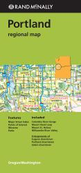 Portland, Oregon Regional by Rand McNally