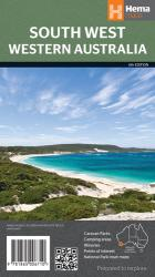 Western Australia, Australia, South West by Hema Maps