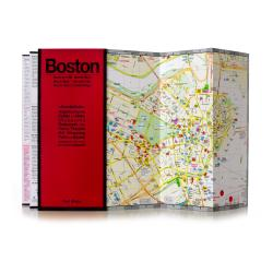 Boston, Massachusetts by Red Maps