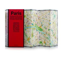 Paris, France by Red Maps