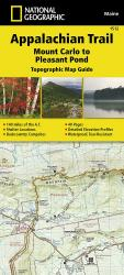Appalachian Trail Topographic Map Guide, Mount Carlo to Pleasant Pond by National Geographic Maps
