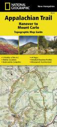 Appalachian Trail Topographic Map Guide, Hanover to Mount Carlo by National Geographic Maps