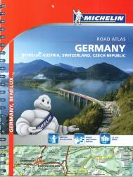 Europe, Central, Road Atlas (21463) by Michelin Maps and Guides