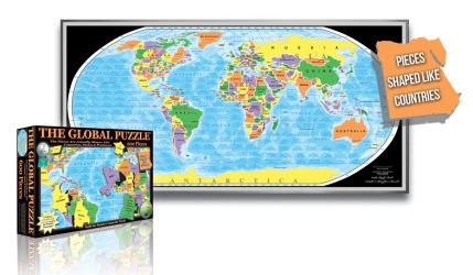 Global Puzzle, 600 piece by Broader View