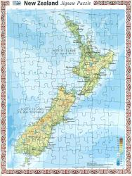 New Zealand, Puzzle, 96 Pieces by Hema Maps