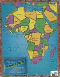 Africa, Political, Puzzle by Broader View