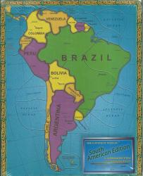 South America, Political, Puzzle by Broader View
